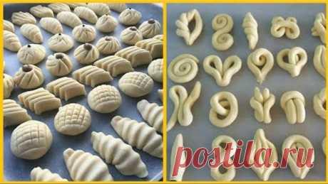 افكار جديدة \ اشكال #معجنات ستجعلك اميرة مميزفي المطبخ New ideas how to make your pastry