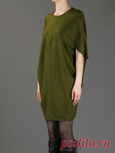 """Dress cocoon from Gucci + a pattern a Gucci Dress - extremely effective and convenient.\u000aHere one more photo from \""""Wish-wash\"""" — there was this model few years ago, but I did not sew at once, and now here and number forgot … \u000a\u000aThe version of the Drill It is fashionable:\u000a\u000aIsto …"""