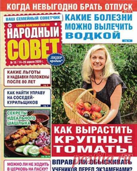 Народный совет #16 (2020) » Скачать и читать журнал онлайн
