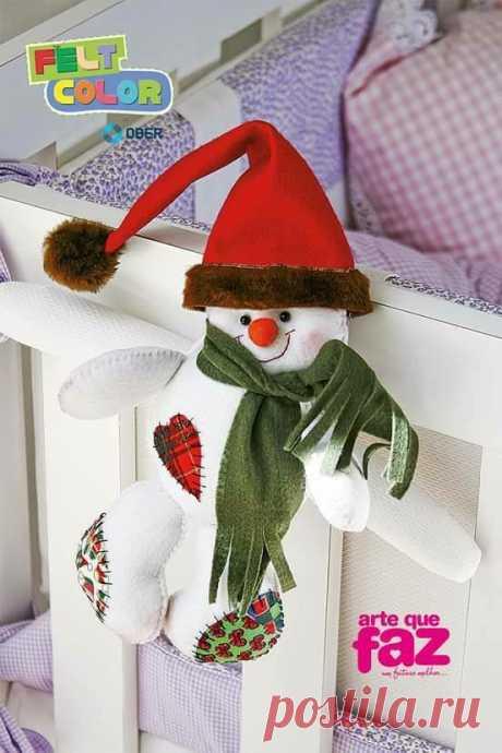 Выкройка снеговика на любой вкус. Шьем своими руками. | ИЗ ФЕТРА | Яндекс Дзен