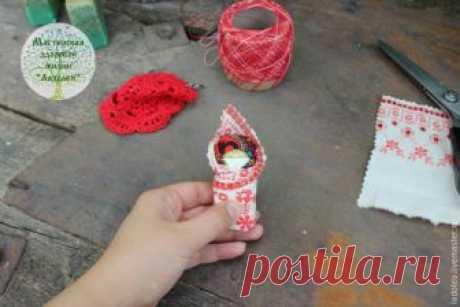 Мастер-класс: обереговая кукла пеленашка для новорожденных и самых маленьких – Ярмарка Мастеров