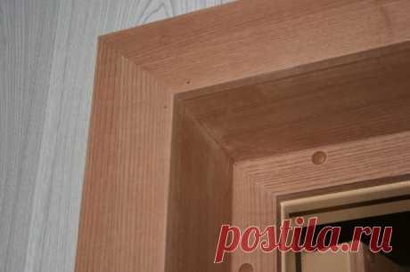Отделка откосов входной двери изнутри: фото идей