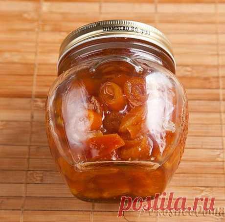 Варенье из апельсиновых корок рецепт с фото