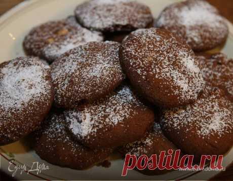 Шоколадное печенье с фундуком, автор Юлия Высоцкая