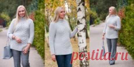 Длинный свитер Morning - Вяжи.ру
