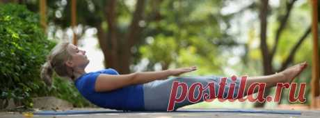 The stretching asanas for weight loss