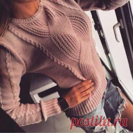 Интересный свитер - Все своими руками