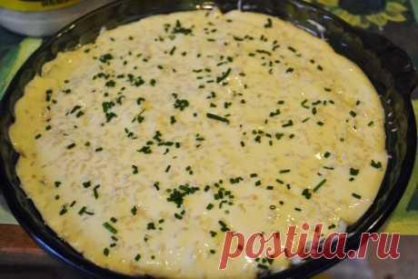 Ленивый капустный пирог — быстрый и очень вкусный | Вкусный рецепт