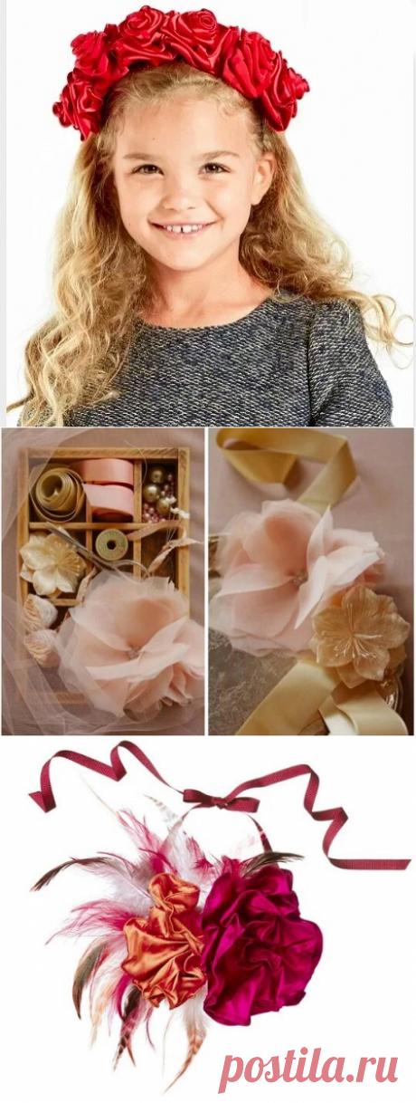 Как сделать цветок своими руками: 20 способов — Мастер-классы на BurdaStyle.ru