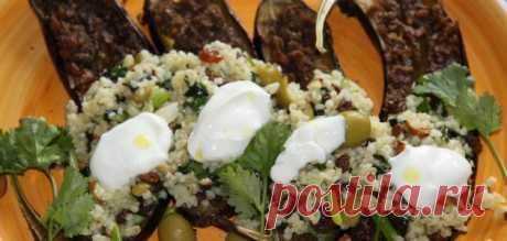 Баклажаны под соусом шармуля с булгуром – Вся Соль - кулинарный блог Ольги Баклановой