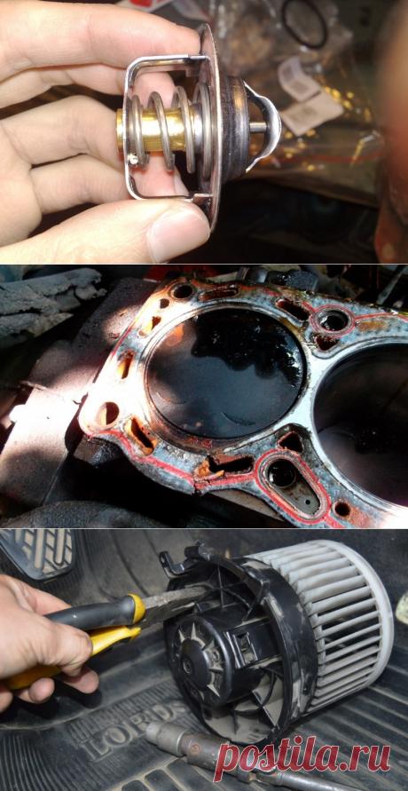 Печка включена, но в машине холодно — почему?