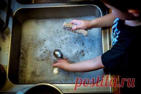 Cредство для мытья посуды своими руками