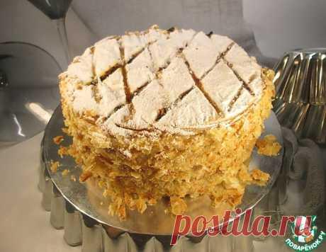 """Традиционный торт """"Наполеон"""" в английском стиле – кулинарный рецепт"""