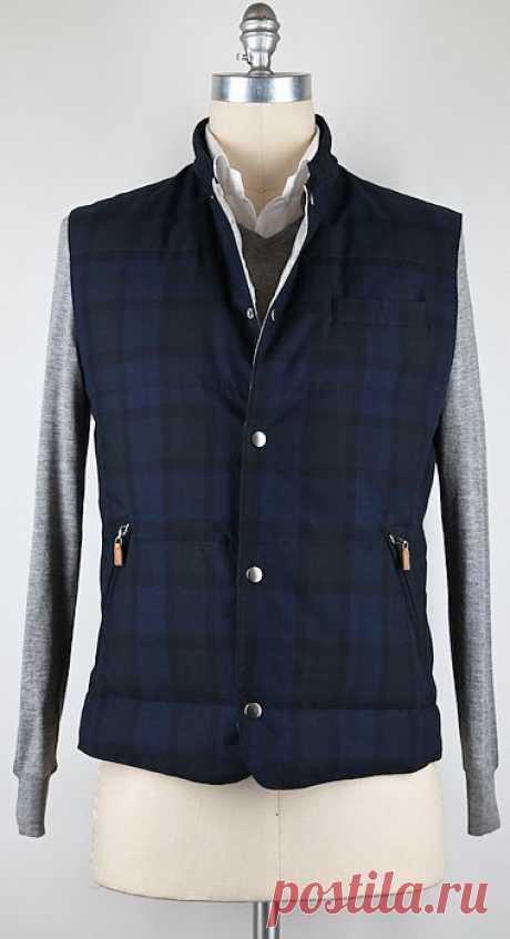 Cucinelli мужская куртка / Мужская мода / ВТОРАЯ УЛИЦА