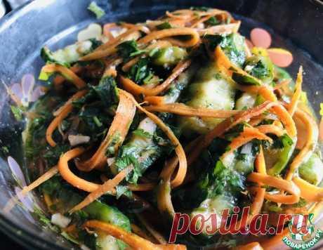 Острая закуска из огурцов – кулинарный рецепт