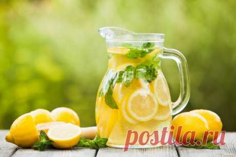 Простой рецепт домашнего лимонада   Life hacks
