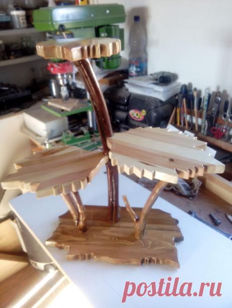 Полочки из дерева от Анатолия Вережникова | | Для тех, кто любит работать с деревом