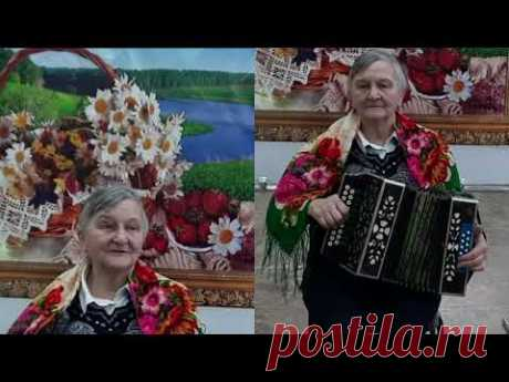 Носова Инна Ивановна, гармонистка, пос. Шиндалово