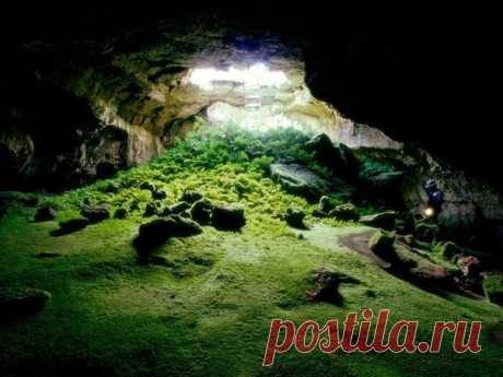Завораживающие фото пещер