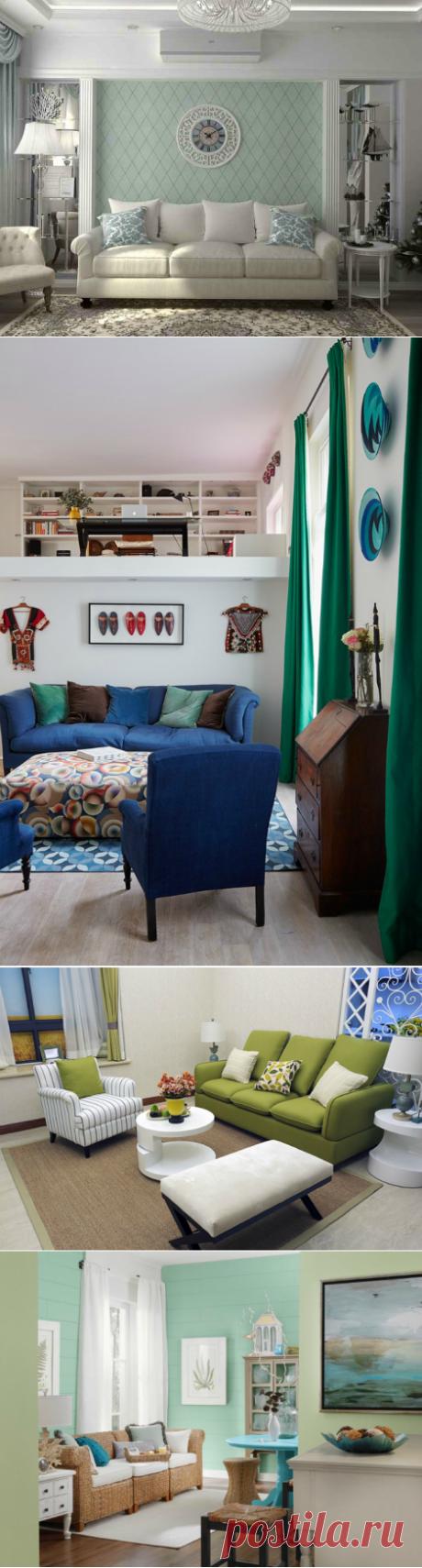 Самые разнообразные способы оформления гостиной — Pro ремонт