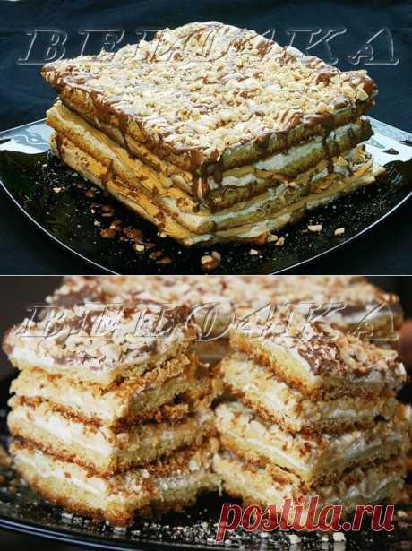 """Торт """"Воздушный сникерс"""" Автор: belo4ka"""