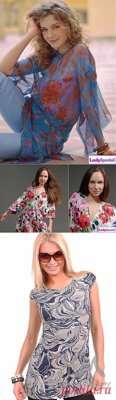 Как сшить тунику своими руками? - Женский журнал LadySpecial.ru