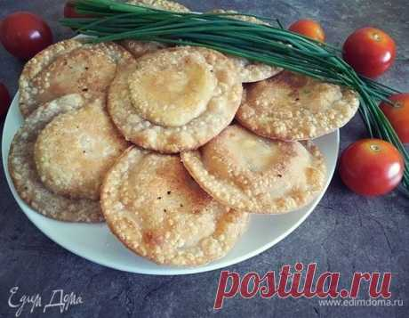 Тиртлан с картофелем и рикоттой, рецепт с ингредиентами: ржаная мука, мука 1 сорт, вода