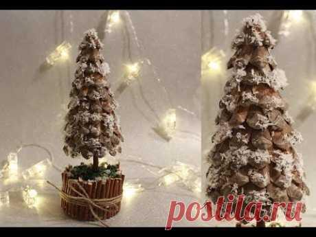 Мастер-класс / Новогодняя елка своими руками / Handmade Christmas Tree / DIY / Tutorial - YouTube  Елочка сделанная своими руками может стать отличным декором своего дома и конечно же интересным подарком. Я решила сделать елочку из шишек, мне кажется получилось отлично.  #новогодняяелкасвоимируками #handmade #christmastree
