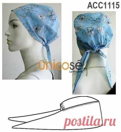 Оригинальный головной убор (Шитье и крой) – Журнал Вдохновение Рукодельницы