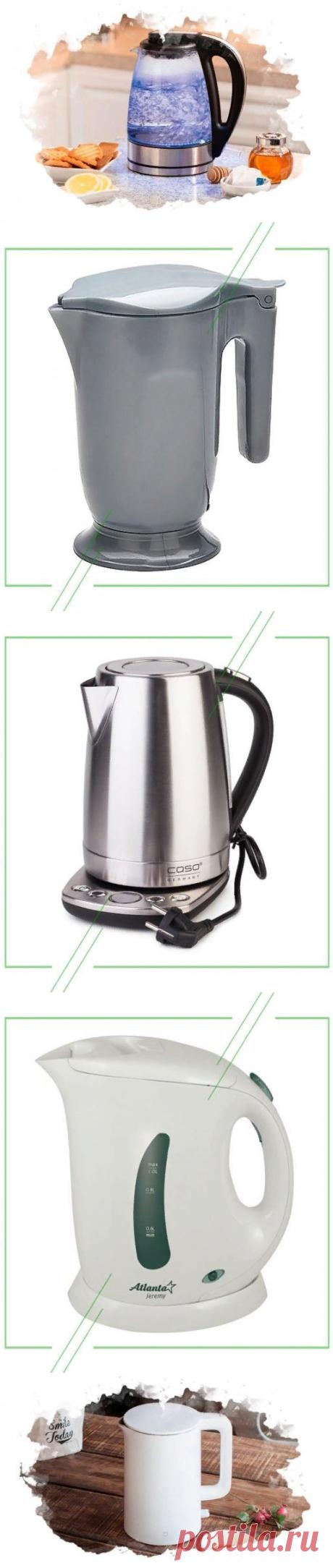 ТОП-7 лучших электрических чайников для дома