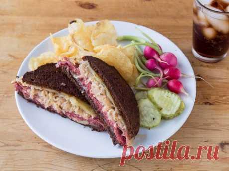 Рувим сэндвич рецепт с фото