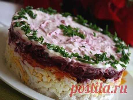 Самая лучшая подборка праздничных салатов!   Таки Вкусно