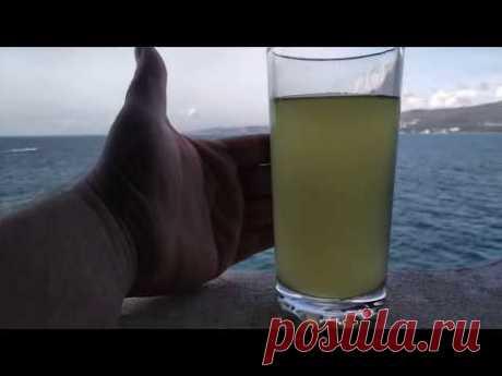 Проверенная питьеваябрага из цитрусовой цедры