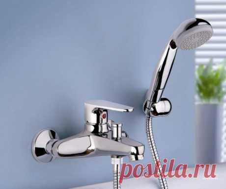 Виды смесителей для ванной с душем: особенности разных механизмов переключения