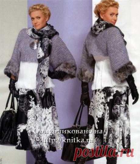Серый пуловер, Вязание для женщин