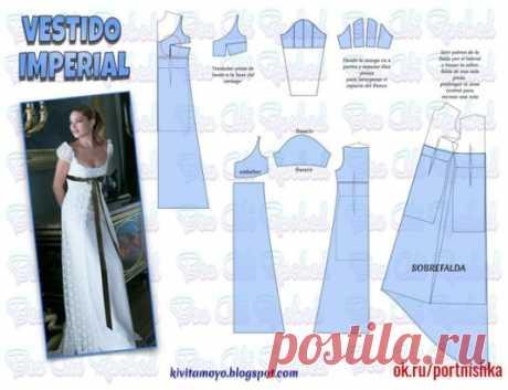 Нежное платье! #portnishka #выкройка_платья #кройкаишитье #своими_руками #моделирование_одежды