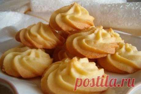 Тающее песочное печенье рецепт – выпечка и десерты. «Афиша-Еда»