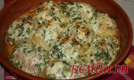 Как приготовить картошка, запеченная в чесночном масле - рецепт, ингредиенты и фотографии