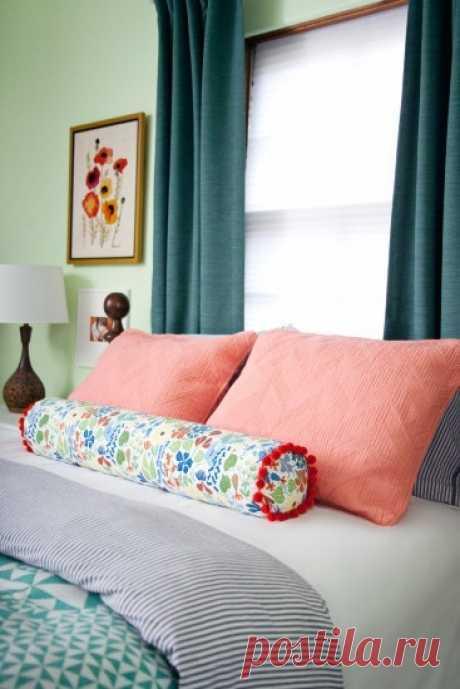 Восточный валик на кровать — DIYIdeas