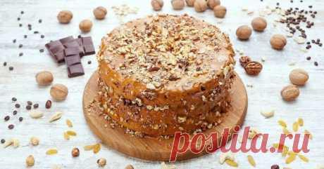 Торт «Сладкий орешек»