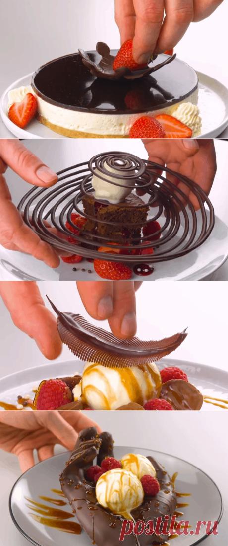 Игры с шоколадом, где рукоделия больше, чем кулинарии