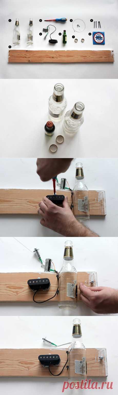 Как изготовить примитивную гитару диддли-бо в домашних условиях — FURFUR — FURFUR — поток «Эксперименты»