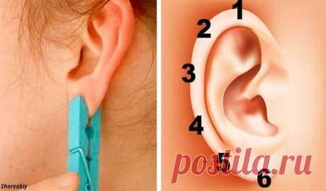 Aprieten la oreja por la pinza para 5 segundos. El efecto será inesperado