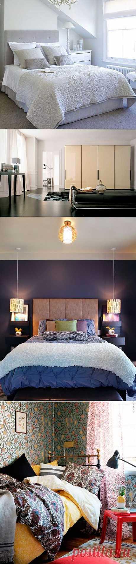 Интерьер  элегантной и функциональной спальни в современном стиле
