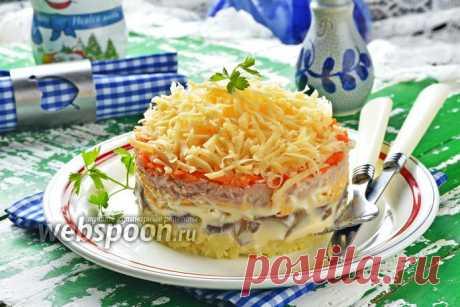 Салат «Тунец под шубой» рецепт с фото, как приготовить на Webspoon.ru