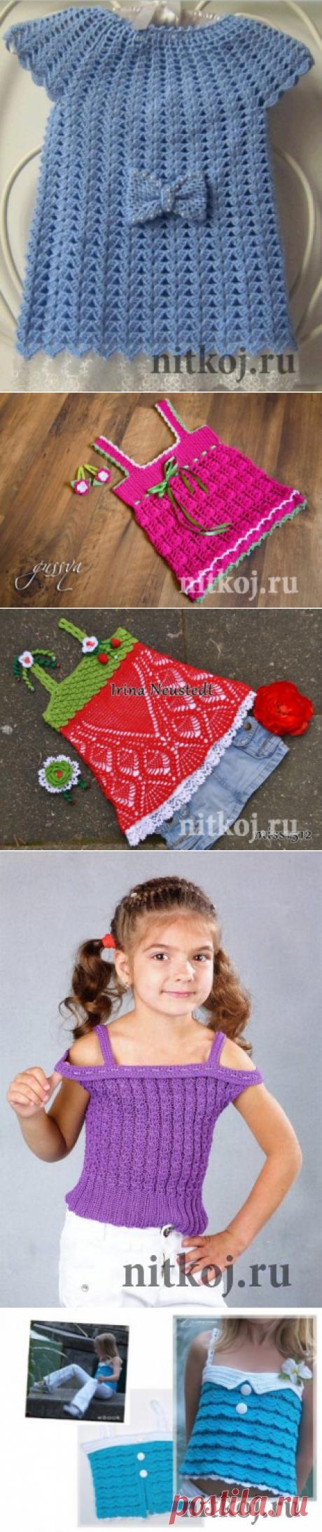 Летние детские кофточки » Страница 2 » Ниткой - вязаные вещи для вашего дома, вязание крючком, вязание спицами, схемы вязания