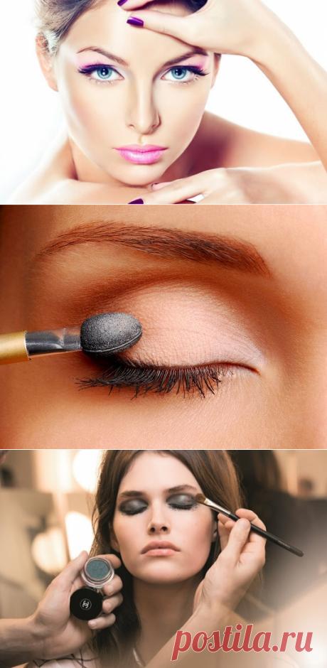 Какие ошибки в макияже глаз, мы допускаем и как их исправить   Чаровница и проказница