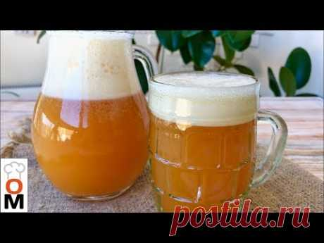 The secret of Preparation of House Grain Kvass (Aerated also with the Skin)