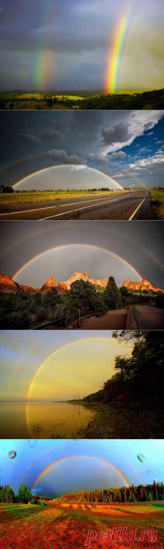 50 потрясающих фотографий двойной радуги :  НОВОСТИ В ФОТОГРАФИЯХ