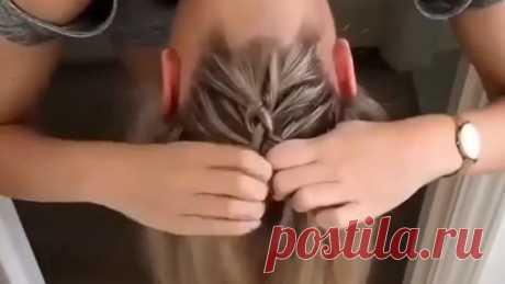 Классная идея для причёски!